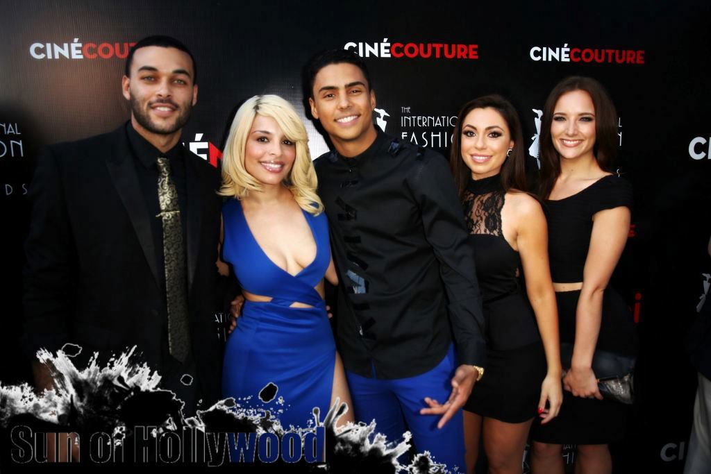 They All Pretty & They All Good... Don Benji, Quincy, Uldouz & Lara Sebastian... And Some Chick whose Name I Just Don't Know
