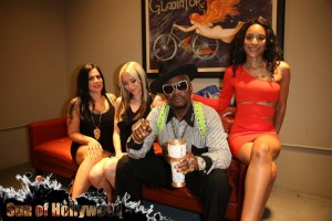 Bishop Always Brings The Ladies Through on any Given GGN Visit.. Especially with G-Unit