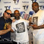 "Playa Szchitt ... DJ King Assassin with Freeway Rick Ross & Darius McCrary.. Complete with ""The King Assasin Show"" Apparel"