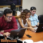 karrueche tran the bay daytime emmy gregori j martin kristos andrews table read cast member joined chris brown prophecy sunofhollywood 09