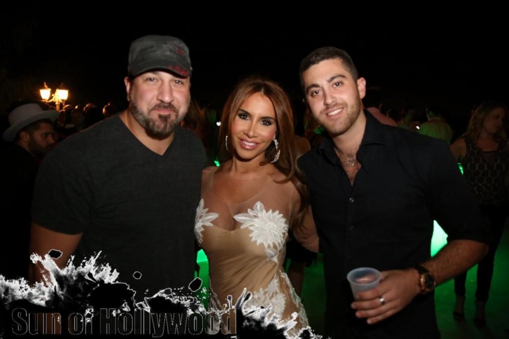 Joey Fatone, Nikki Giavasis & Joey Chowaiki... Boss