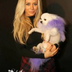Aubrey O'Day And MaryAnn / A Furry Little Angel In The Palm Of Her Hand