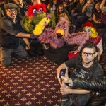 Skrillex & Some Pseudo Muppets