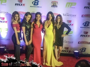 Arianny And Her Ladies Take Over The Red Carpet At the 7th Annual World MMA Awards