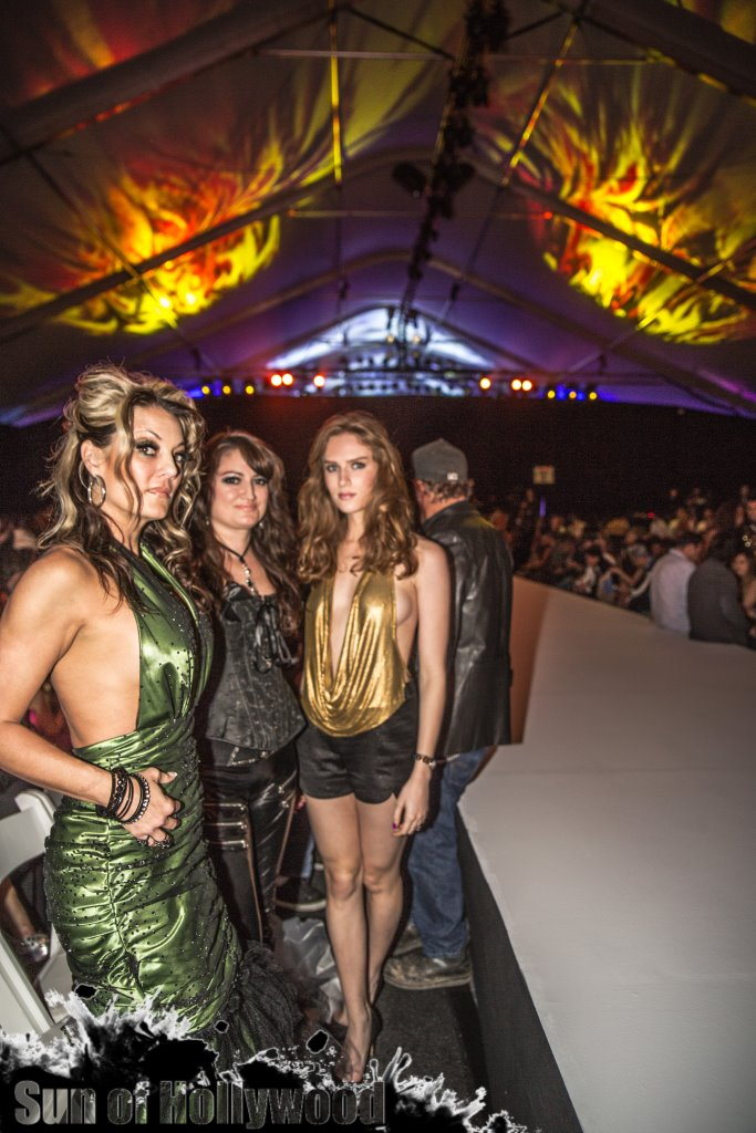 Heather Chadwell, Vikki Lizzi & Charlotte Kirk... Startin Fires Along The Runway
