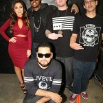 Uldouz & DJ Paul With HeavyWeight Radio's Hosts, DJ Truly Odd & Mike XXL ... BREALTV Fam