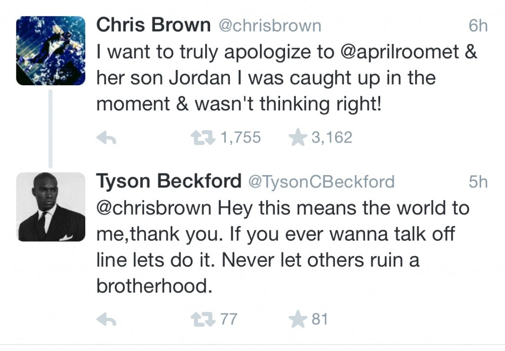 "Chris Brown Apologizes For Getting ""Caught Up""… Tyson Beckford Is Well Pleased… And So Will Be Karrueche"
