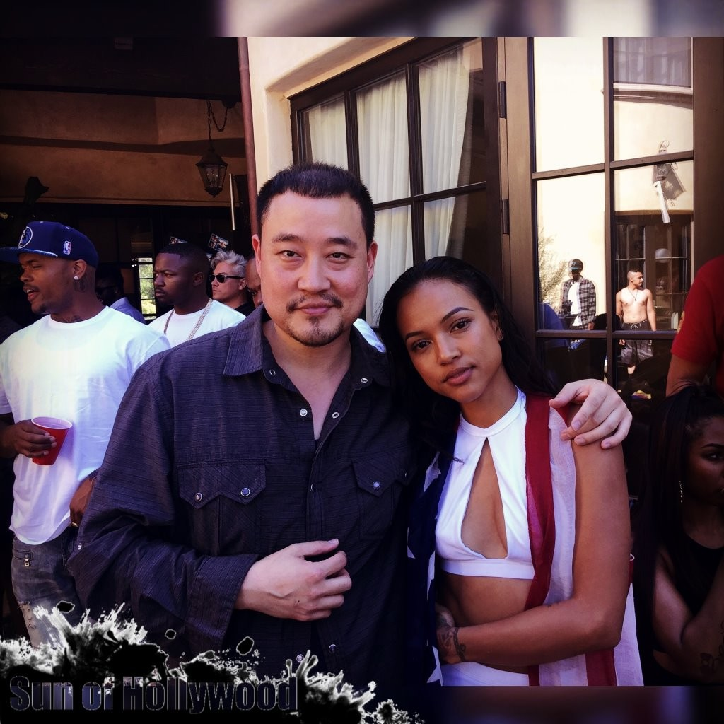 Karrueche's 4th Of July Pool Party
