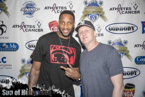 Tracy McGrady & Michael Rapaport Show Their Support for Athletes V. Cancer