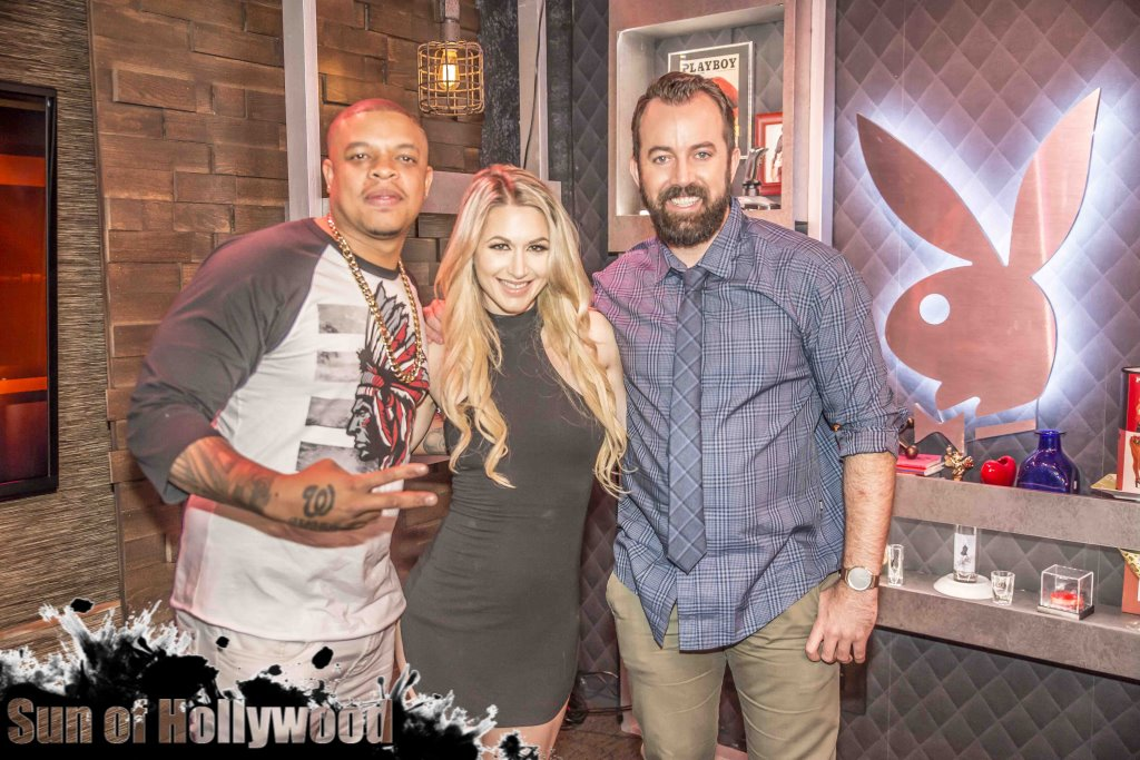 Curtis Young stops by the Playboy Morning Show with Andrea Lowell & Dan Cummins