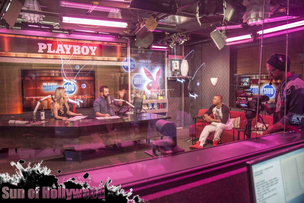 curtis young andrea lowell dan cummins nick swardson playboy tv morning show garry sun prophecy sunofhollywood 17