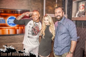curtis young andrea lowell dan cummins nick swardson playboy tv morning show garry sun prophecy sunofhollywood 31