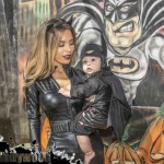 Sneakin up on Baby Batman and his Catwoman Momma might lead to Severe Punishment