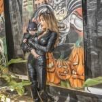 sarah stage james hunter halloween batman catwoman baby model pumpkin patch toluca lake festival petting zoo garry sun prophecy sunofhollywood 06