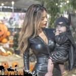 sarah stage james hunter halloween batman catwoman baby model pumpkin patch toluca lake festival petting zoo garry sun prophecy sunofhollywood 11