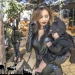 sarah stage james hunter halloween batman catwoman baby model pumpkin patch toluca lake festival petting zoo garry sun prophecy sunofhollywood 20