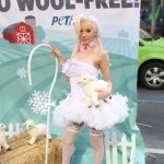 courtney stodden peta sheep sheering hollywood highland garry sun prophecy sunofhollywood 12