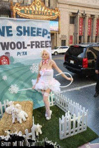 courtney stodden peta sheep sheering hollywood highland garry sun prophecy sunofhollywood 18