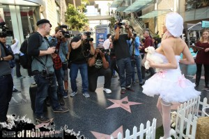 courtney stodden peta sheep sheering hollywood highland garry sun prophecy sunofhollywood 25