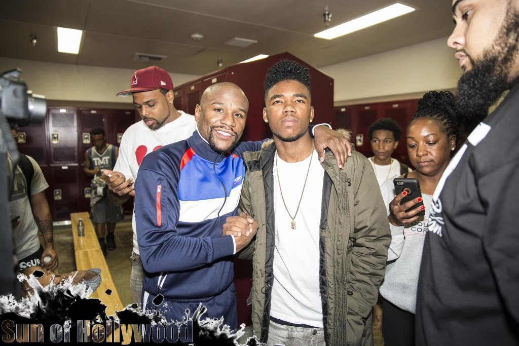 Floyd Mayweather & Lil Caine ... Heavy Hitters
