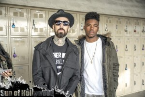 Travis Barker & Lil Caine... It's About To Get Slammin