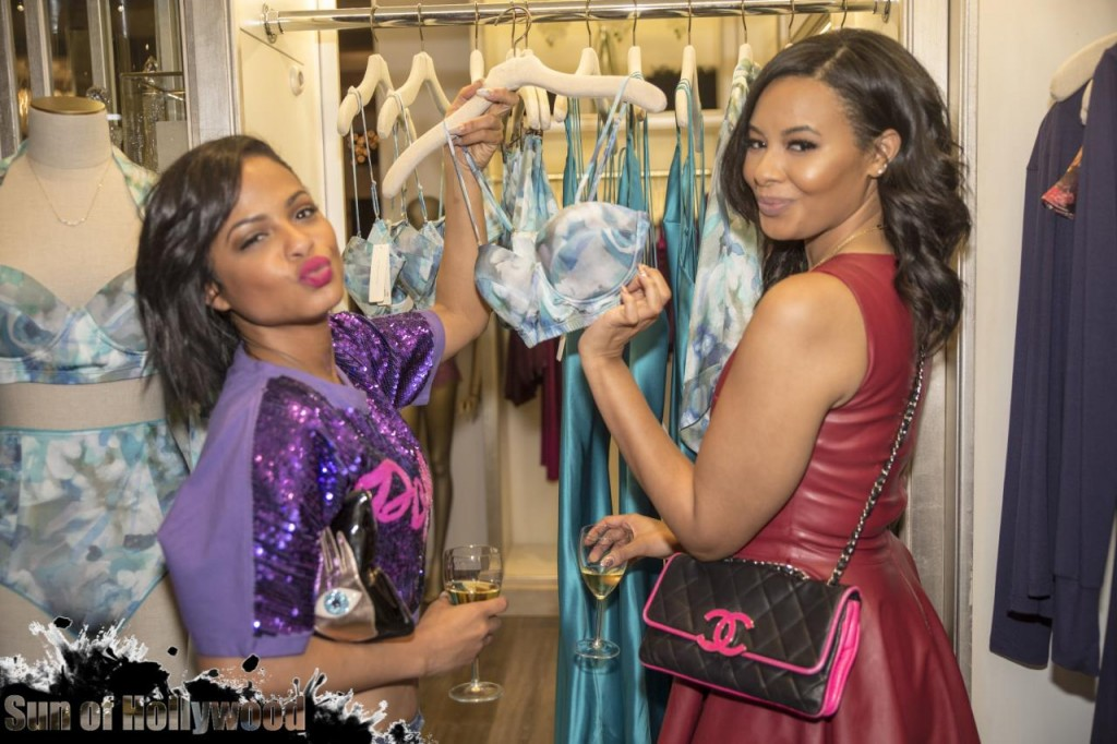 Vanessa Simmons Launches Her Lingerie Line With Naked Princess… Christina Milian, Sevyn Streeter & Laura Govan Come Out To Support