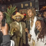 wiz khalifa listening party bishop don magic juan peaches big marvin stevie j juicy j ty dolla sign tocahantes faith evans shanice flex blind dragon garry sun prophecy sunofhollywood 22