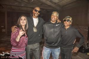 Raven Felix, Snoop, Director Deon Taylor & Nef The Pharoah Puttin In Werk