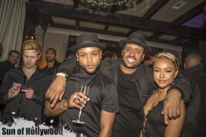 Kenny Hamilton With His Birthday Peeps
