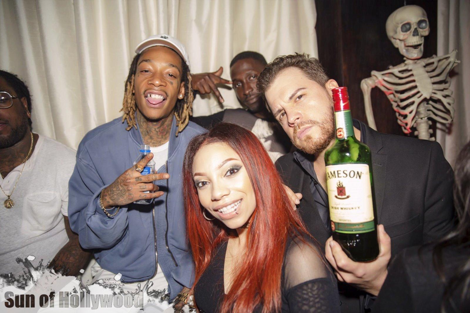 Wiz Khalifa, Ebie & Dave O Gettin it Turnt