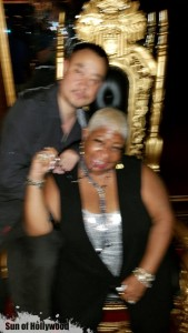 When ur Hangin with the Queen of Comedy Luenell and Ur Photographer Is Drunk