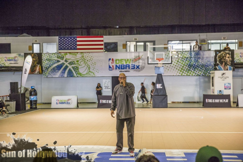 Warren G Gets The G-Funk Presidential Treatment At DEW NBA 3X